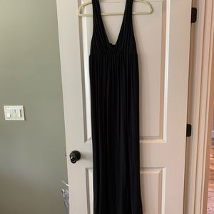 Black cotton jcrew dress